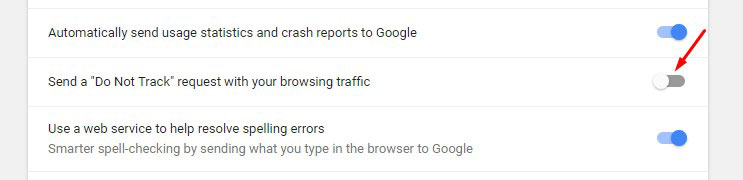 Secure Chrome Browser Settings 4