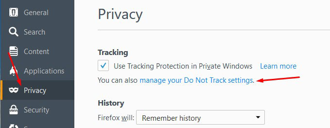Secure Firefox Browser Settings 3