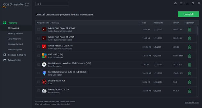 IOBit Uninstaller - Must have Software for Technicians